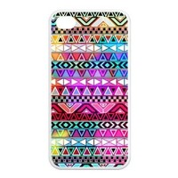 Custom Girly Floral Tribal Andes Aztec Printed iphone 4 4s case Tide Apple iPhone 4 4S Best Case Cover