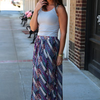 Statement Maxi Skirt {Multi}
