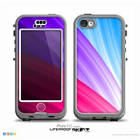 The Radiant Color-Swirls Skin for the iPhone 5c nüüd LifeProof Case