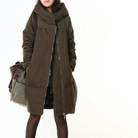 women Winter coat cotton coat winter Outerwear warm coat large size coat