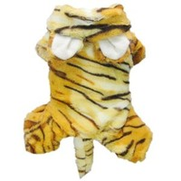 Petparty Cute Tiger Costumes for Dog Clothes Pet Dog Jumpsuit Coat S