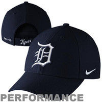 Nike Detroit Tigers Dri-FIT Classic Adjustable Performance Hat - Navy Blue