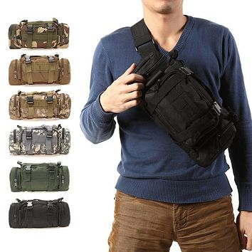 Outdoor Military Camping Hiking Backpack Bag
