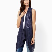 Jada Open Weave Vest   Fashion Apparel and Clothing - Tops   charming charlie