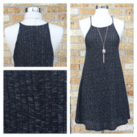 A Knit Grey Dress