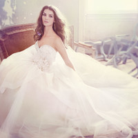 Bridal Gowns, Wedding Dresses by Jim Hjelm - Style jh8301