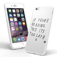 Drake If You're Reading This It's Too Late for iPhone 5