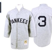 New York Yankees 1929 Road Jersey - Babe Ruth - Mitchell & Ness Nostalgia Co.