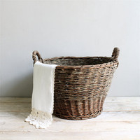 Antique Wicker Basket