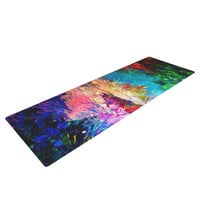 "Ebi Emporium ""Welcome to Utopia"" Rainbow Yoga Mat"