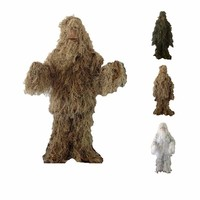 Camouflage Hunting Ghillie Suit Sniper Suit Army Airsoft Uniform
