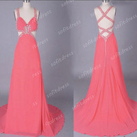 sexy prom dresses, hot pink prom dresses, affordable prom dresses, junior bridesmaid dresses, evening dresses, BE0410