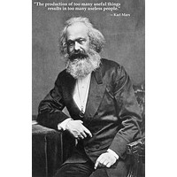 Karl Marx Quote Poster 11x17