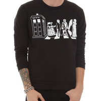 Doctor Who Abbey Road Crewneck Sweatshirt | Hot Topic