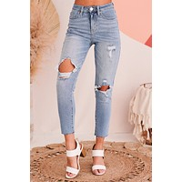 Style Expedition Slim Straight Jeans (Light)