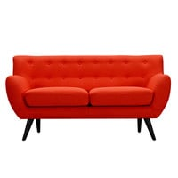 Ida Loveseat Retro Orange