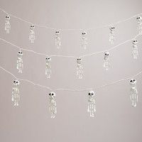 Dangling Skeletons Halloween String Lights - World Market