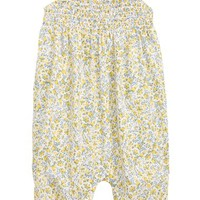 Ruby & Bloom Ditsy Smock Romper (Baby Girls) | Nordstrom