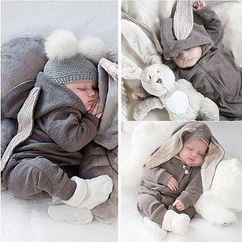 2020 Spring Autumn Newborn Baby Clothes Coat Baby Girl Clothes Outfits Baby Boys Rompers