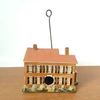 Louisville Stoneware My Old Kentucky Home collectible birdhouse, John Carloftis