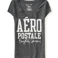 Aero V-Neck Graphic T - Aeropostale