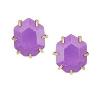 Morgan Stud Earrings in Violet - Kendra Scott Jewelry