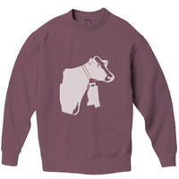 Mississippi Cow Bell Pigment Dyed Crew Sweatshirt