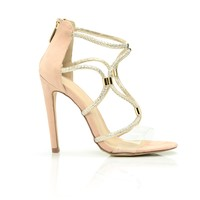 Get It Twisted Heel - Rose Gold