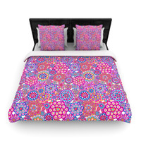 "Julia Grifol ""My Happy Flowers"" Lightweight Duvet Cover"