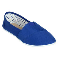 Zoey Canvas Slip On   Shop Shoes at Wet Seal