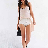 Project Social T Extreme High/Low Tank Top- Neutral
