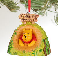 Disney Store Winnie the Pooh 2016 Sketchbook Christmas Ornament New with Tags