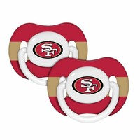 2 pack Pacifiers - San Francisco 49ers