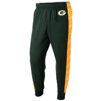 Green Bay Packers Official NFL Mens Printed Poly Insert Camo Stripe Jogger Pants