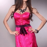 Fuchsia Purple Sweetheart Strapless Sexy Party Mini Dress @ Amiclubwear sexy dresses,sexy dress,prom dress,summer dress,spring dress,prom gowns,teens dresses,sexy party wear,women's cocktail dresses,ball dresses,sun dresses,trendy dresses,sweater dresses,