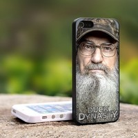 Si Robertson Duck Dynasty -For iPhone 4,4S Black Case Cover