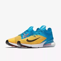 Air Max 270 Flyknit Blue/Yellow