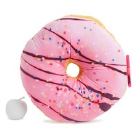 Girl's Iscream Rainbow Sprinkles Donut Scented Autograph Pillow