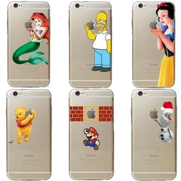 Despicable Me 3 Yellow Minions Winnie Pooh Soft Silicone Phone Case Cover For iPhone 5 5S SE 6S 6Plus 7 XR XS MAX 8 8 Plus X 10