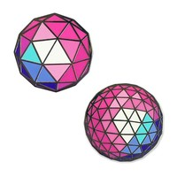 Geodesic Spheres Pin Set