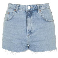 MOTO Authentic Bleached Mom Shorts - Bleach