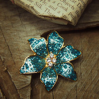 Tropic Orchid Brooch #5280