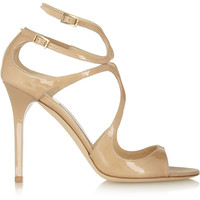 Jimmy Choo - Lang patent-leather sandals