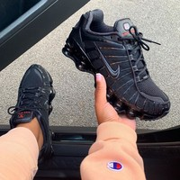 NIKE SHOX TL Air column leisure sports shoes