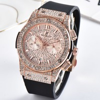 Hublot Women Fashion Quartz Watches Wrist Watch