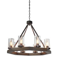 Akilah 8-Light Candle-Style Chandelier with Hanging Chain