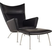 Wing Chair - Leather