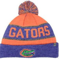 DCCKG8Q NCAA Florida Gators Orange & Blue Knit Beanie