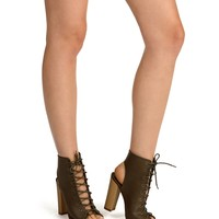 Olive Chill Out Booties