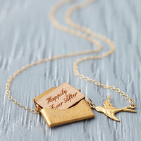 Personalised Mini Love Letter Necklace